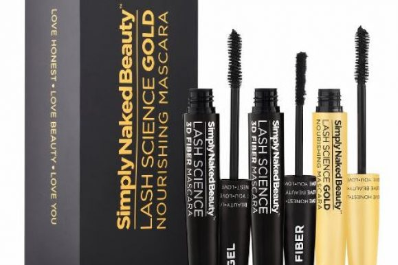 Simply Naked Beauty 3D Fiber Lash Mascara with Eyelash Enhancing Serum Review