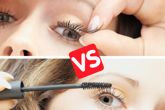 3D Fiber Lash Mascara vs. False Eyelashes vs. Eyelash Extension